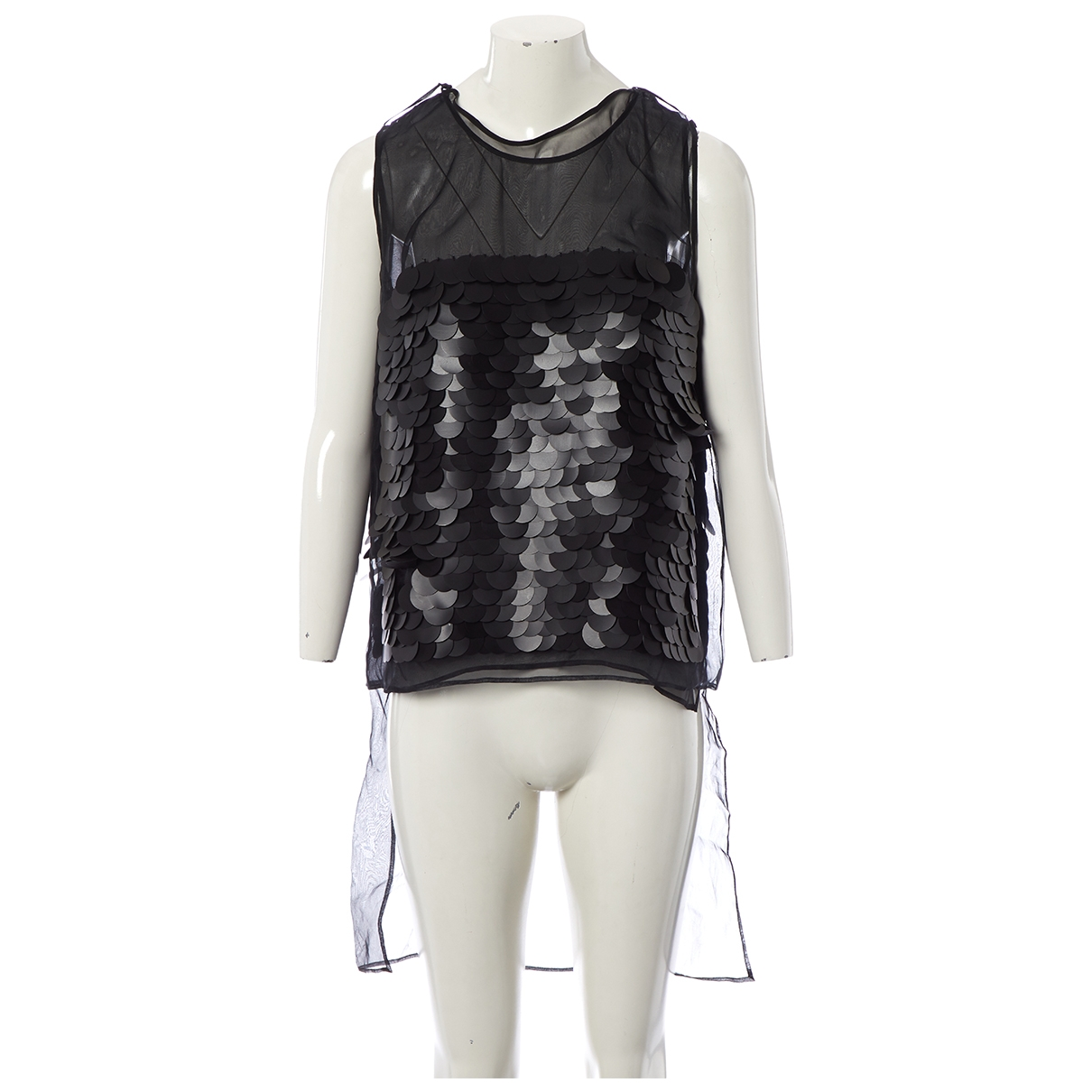 Stella Mccartney \N Black Silk  top for Women 44 IT