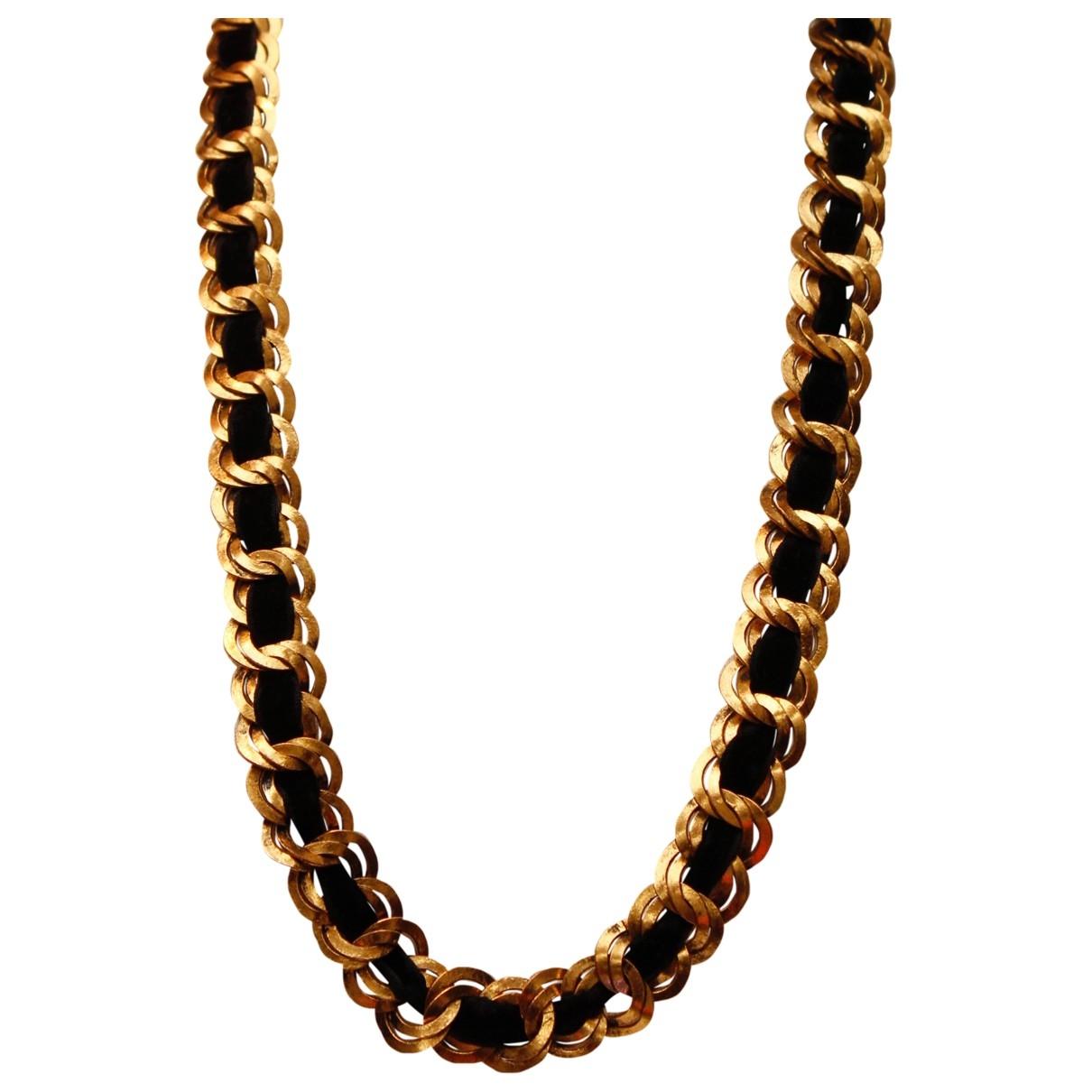 Chanel - Collier   pour femme en metal - noir