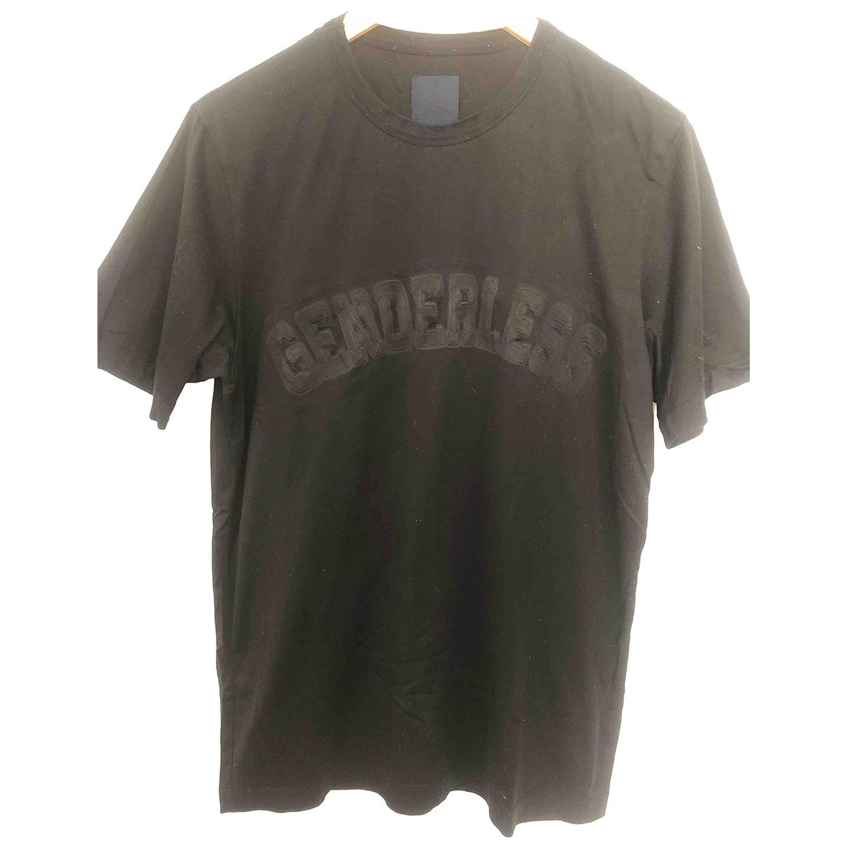 Juunj \N T-Shirts in  Schwarz Baumwolle