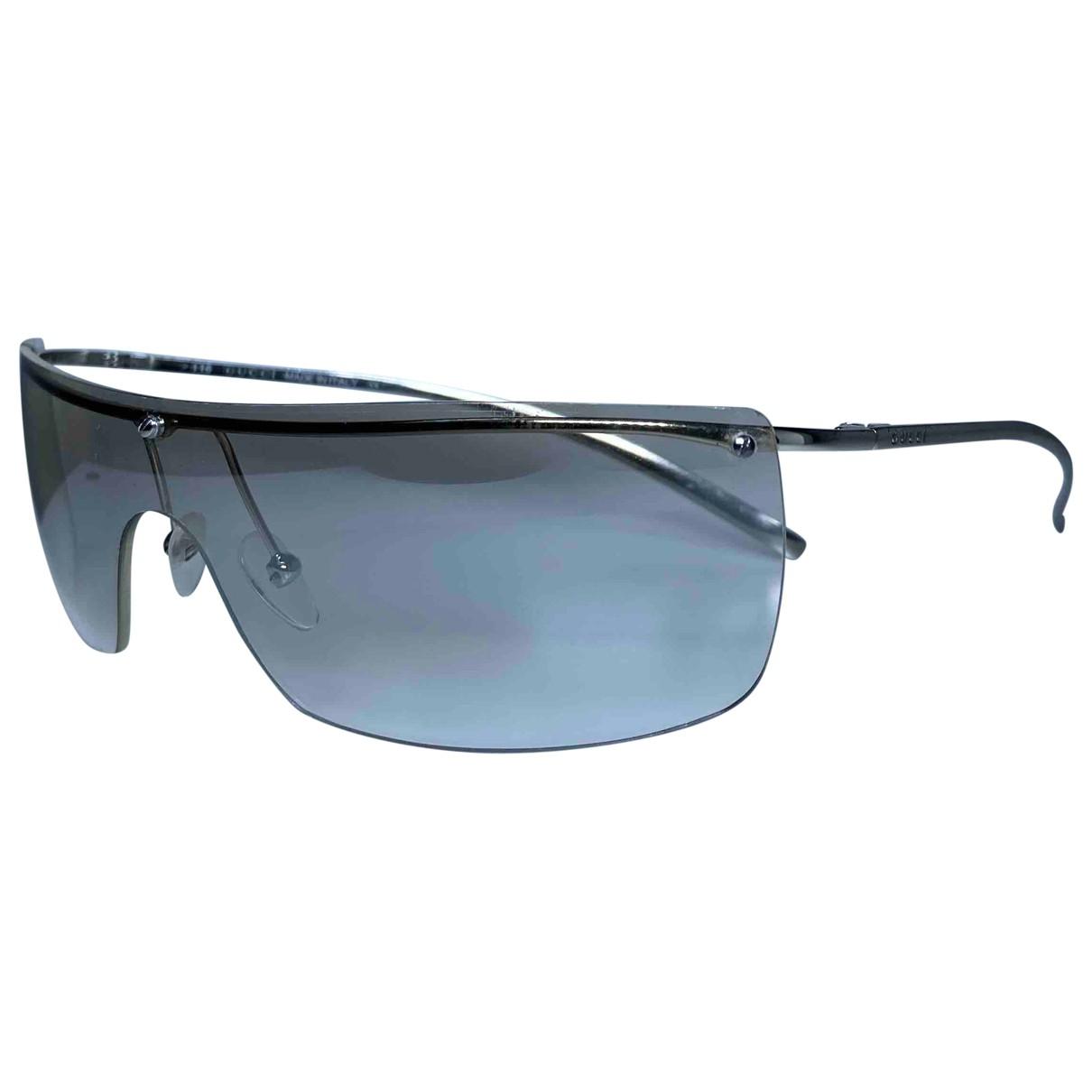 Gucci \N Silver Metal Sunglasses for Women \N