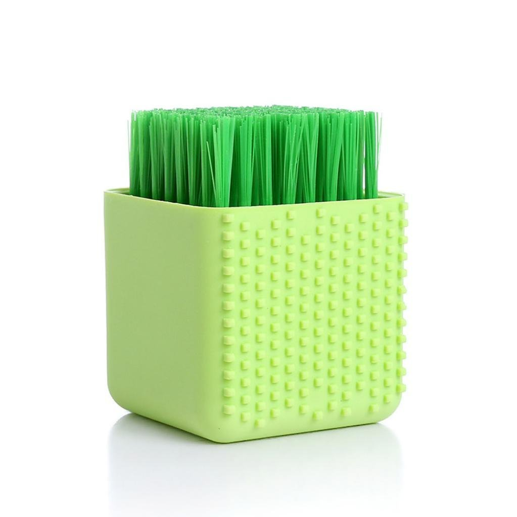 Silicone Cleaning Brush Makeup Cleaner Washing Scrubber Tool Laundry Clean Brush Washing Tool