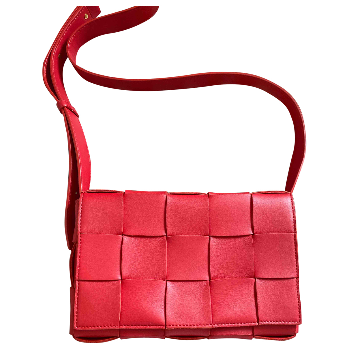 Bottega Veneta Cassette Red Leather handbag for Women \N
