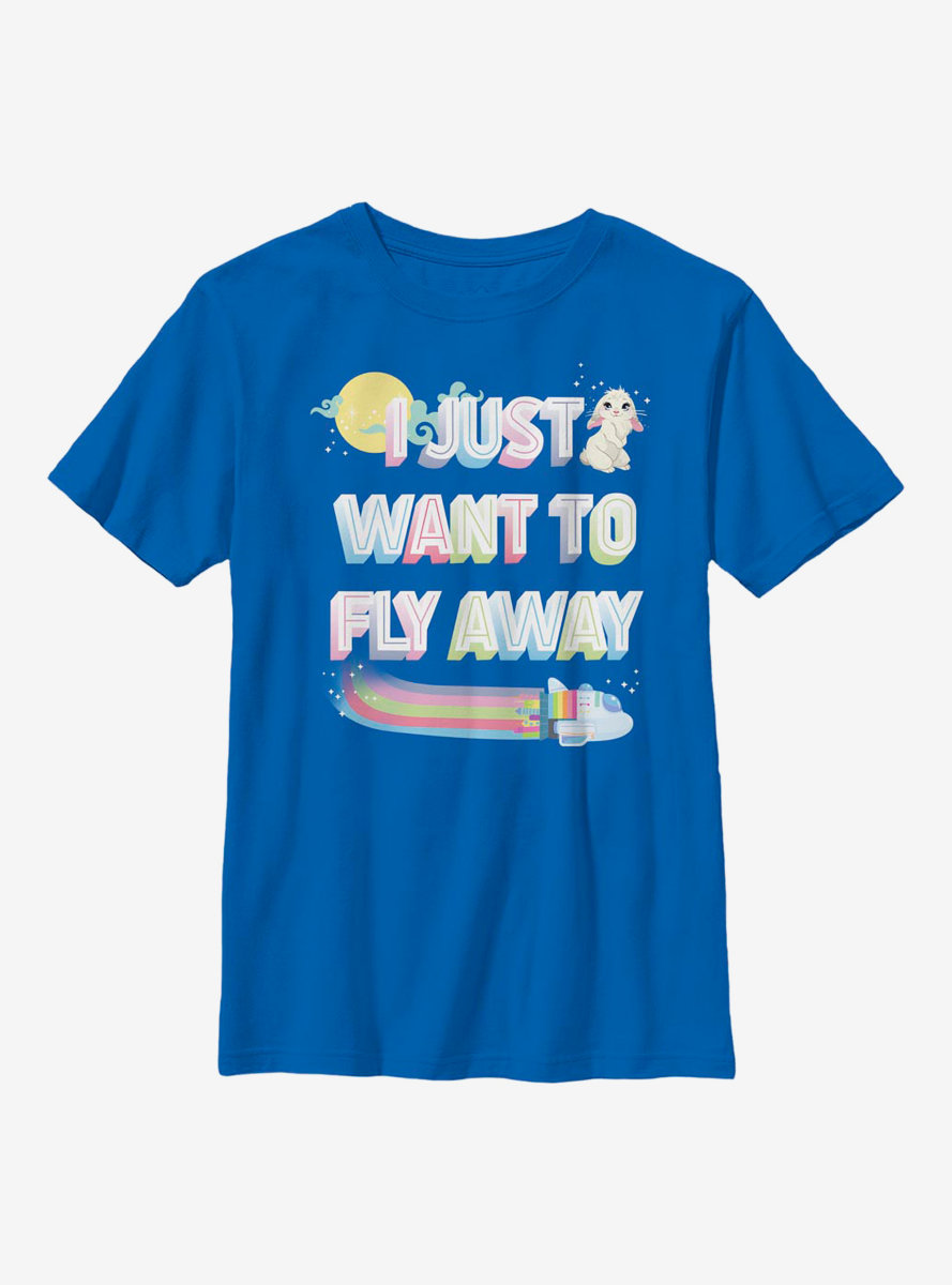 Over The Moon Fly Away Youth T-Shirt