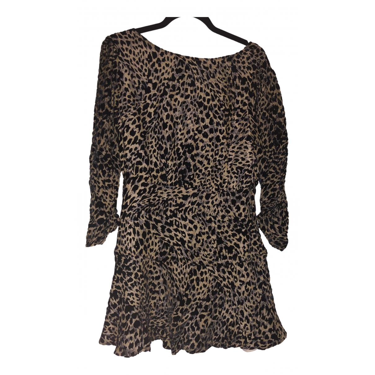 Rixo \N Brown Velvet dress for Women XS International