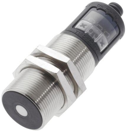 BALLUFF Ultrasonic Sensor Barrel M30 x 1.5, 30 → 350 mm, PNP-NO/NC, M12 - 5 Pin IP67