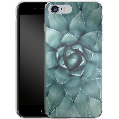 Apple iPhone 6s Plus Silikon Handyhuelle - Beautiful Succulent von caseable Designs