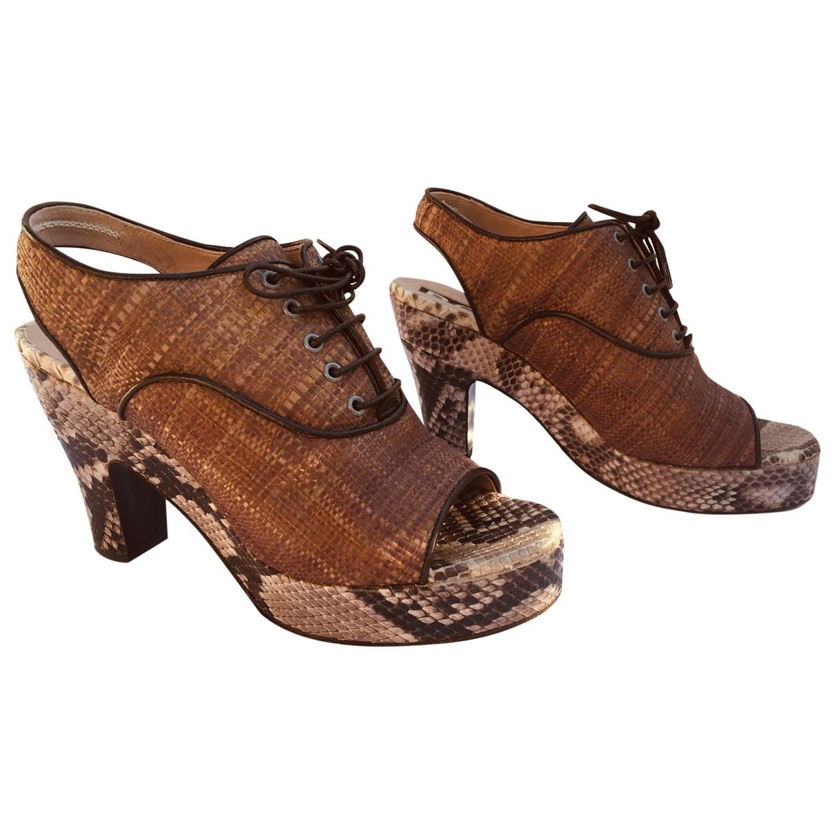 Rochas - Sandales   pour femme en python