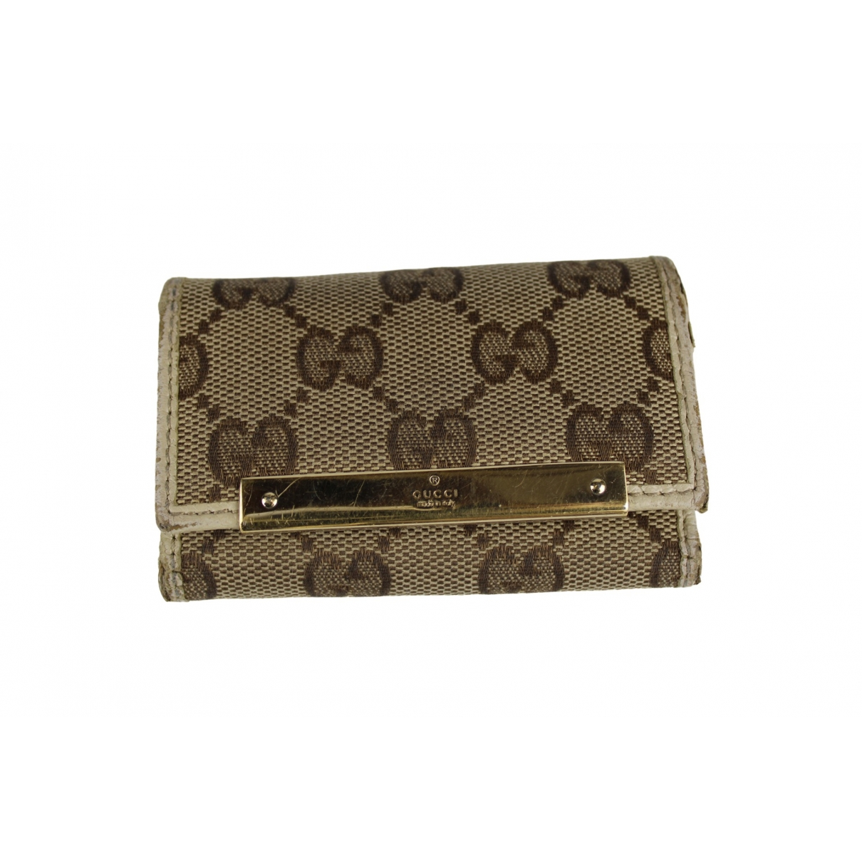 Gucci \N White Cloth Purses, wallet & cases for Women \N