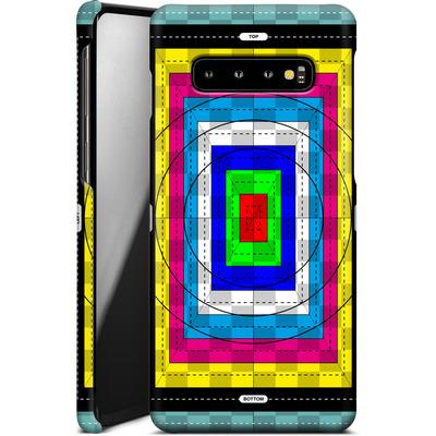 Samsung Galaxy S10 Plus Smartphone Huelle - Test Case von caseable Designs