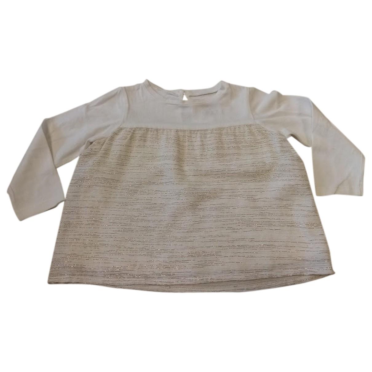 Douuod - Top   pour enfant en coton - blanc