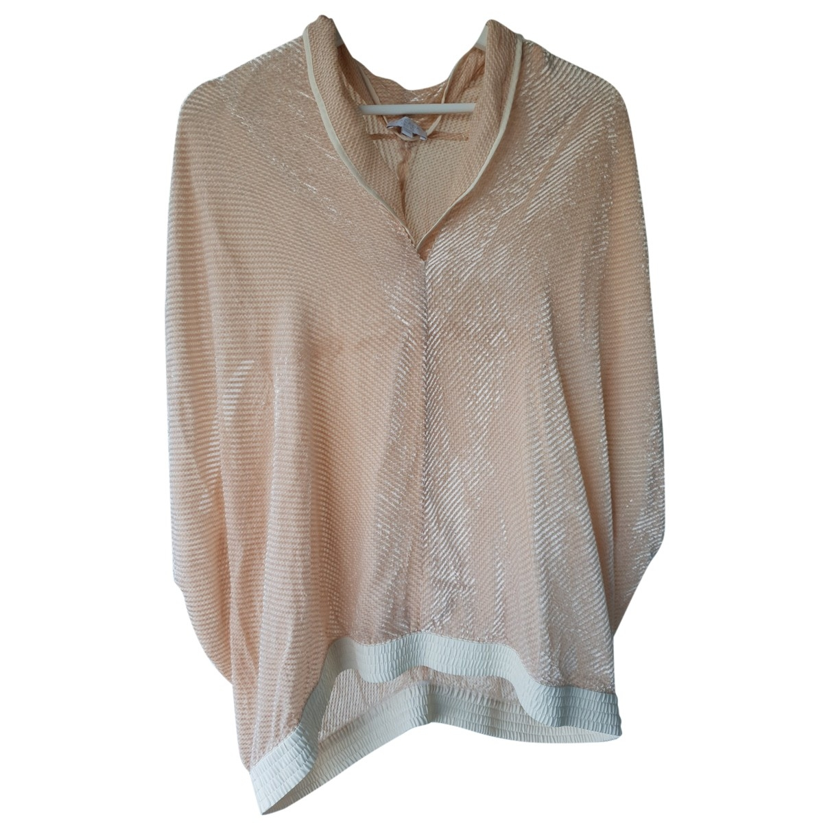 Escada \N Beige Cotton  top for Women XL International