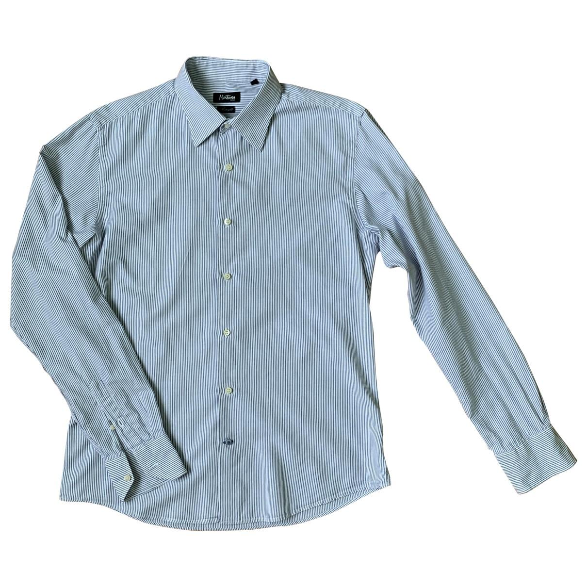 Claude Montana - Chemises   pour homme en coton - blanc