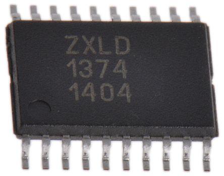 DiodesZetex ZXLD1374EST20TC LED Driver IC, 2.7 → 5.5 V dc 20-Pin TSSOP