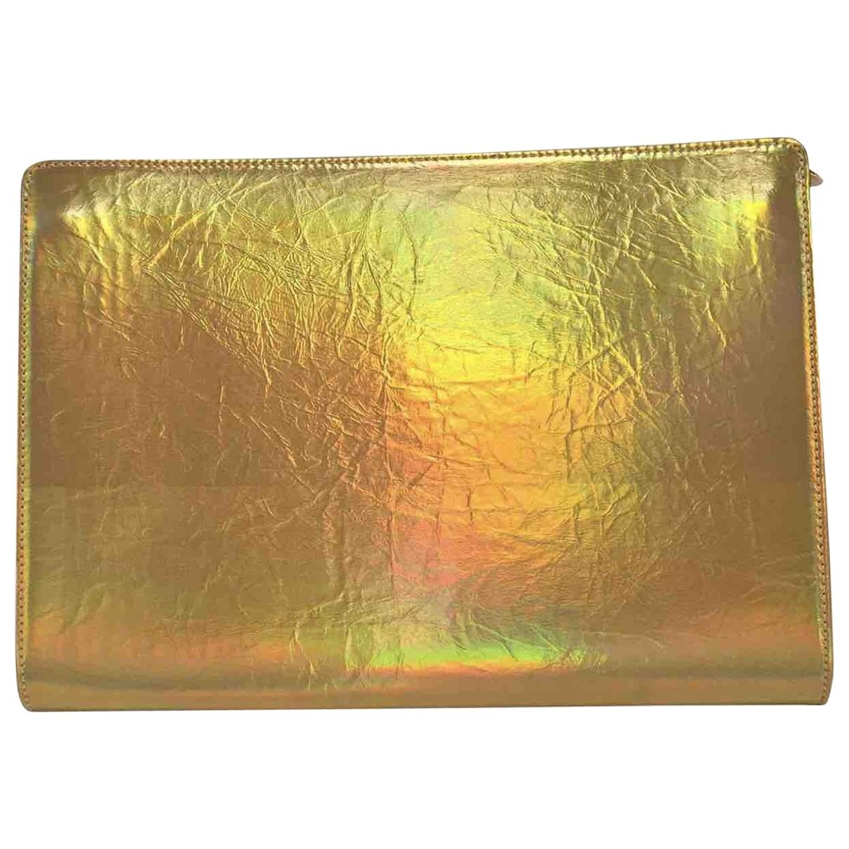 Stella Mccartney \N Gold Clutch bag for Women \N