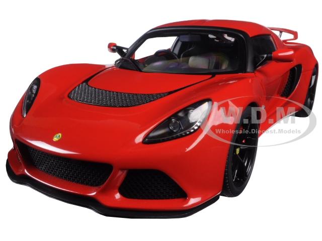 Lotus Exige S Red 1/18 Model Car by Autoart