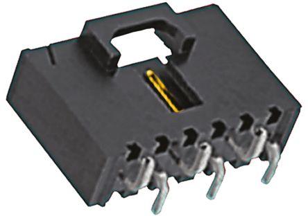 Molex , SL, 74099, 6 Way, 1 Row, Vertical PCB Header (5)
