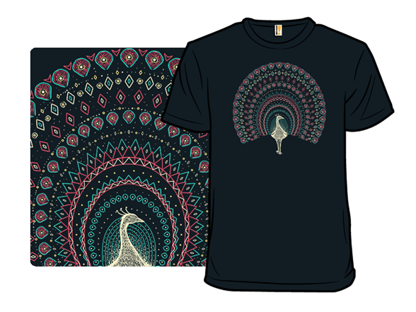 The Artful Peacock T Shirt