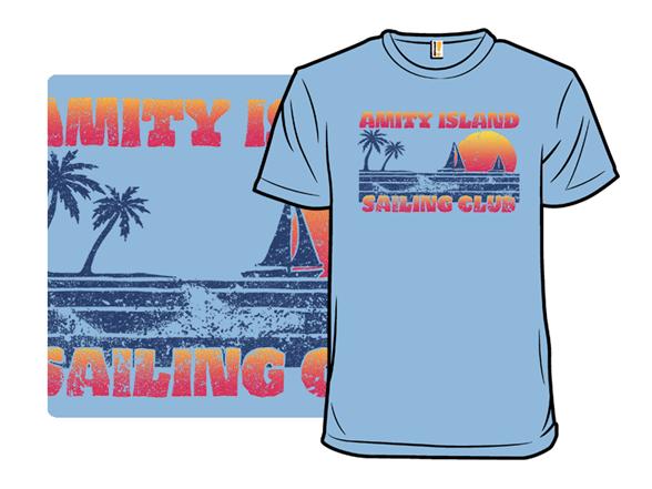 Vintage Sailing Club T Shirt