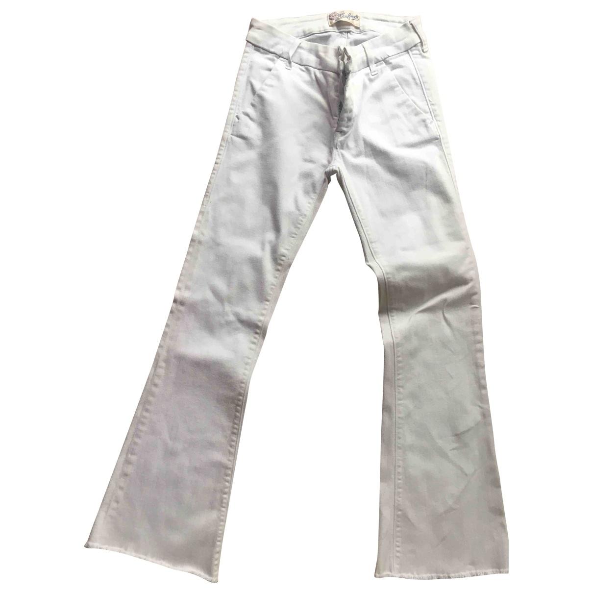 Seafarer \N White Denim - Jeans Jeans for Women 34 FR
