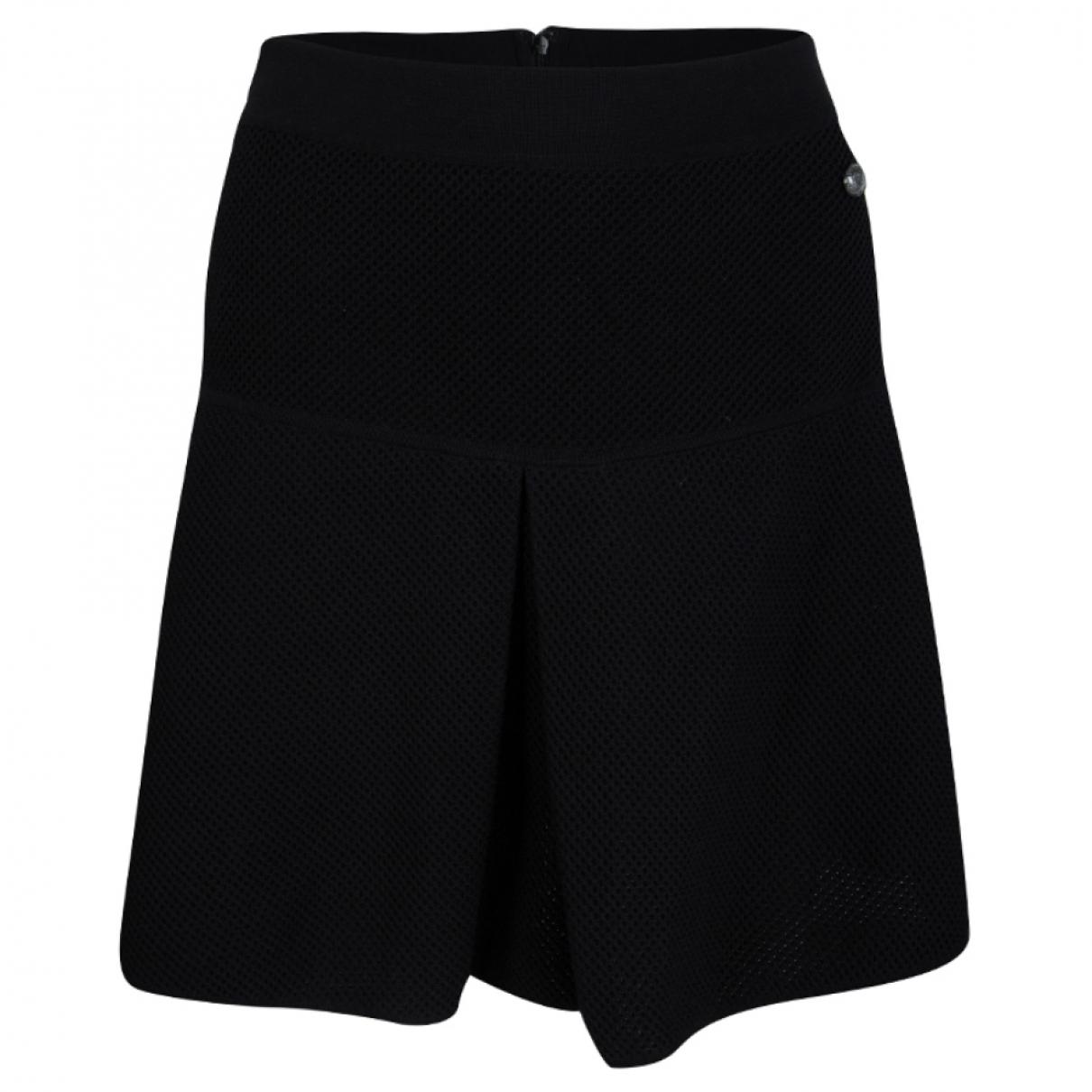 Chanel - Jupe   pour femme en coton - noir