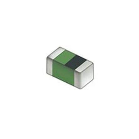 Murata LQG15HN Series 82 nH ±5% Multilayer SMD Inductor, 0402 (1005M) Case, Q: 8 150mA dc 1.6Ω Rdc (200)