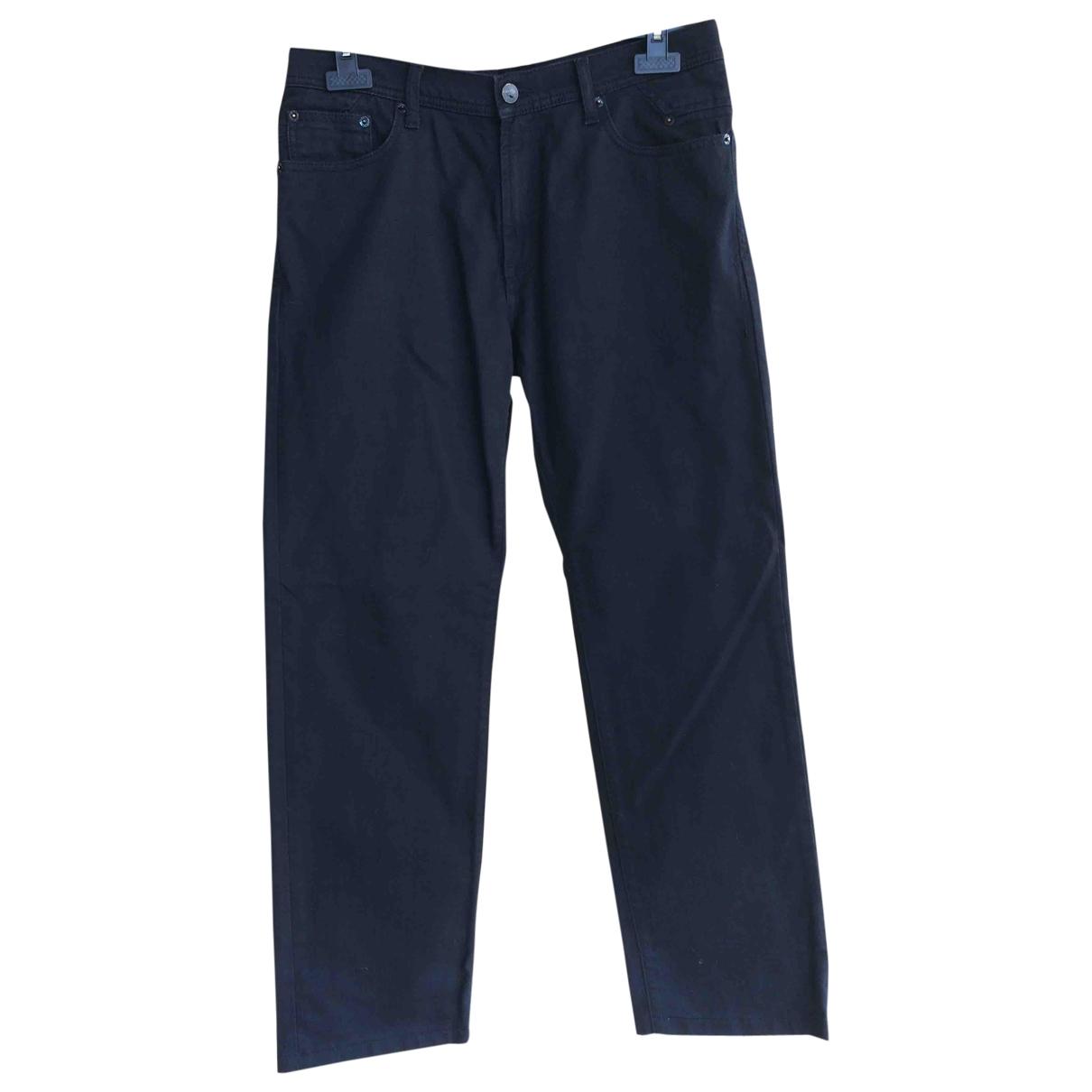 Versace Jeans \N Black Cotton Trousers for Men 34 UK - US