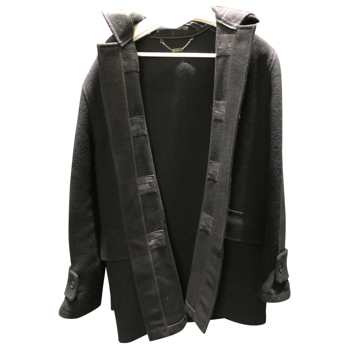 Mulberry - Manteau   pour homme en laine - noir