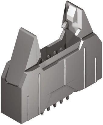 Molex , QF-50, 90571, 20 Way, 2 Row, Straight PCB Header (5)