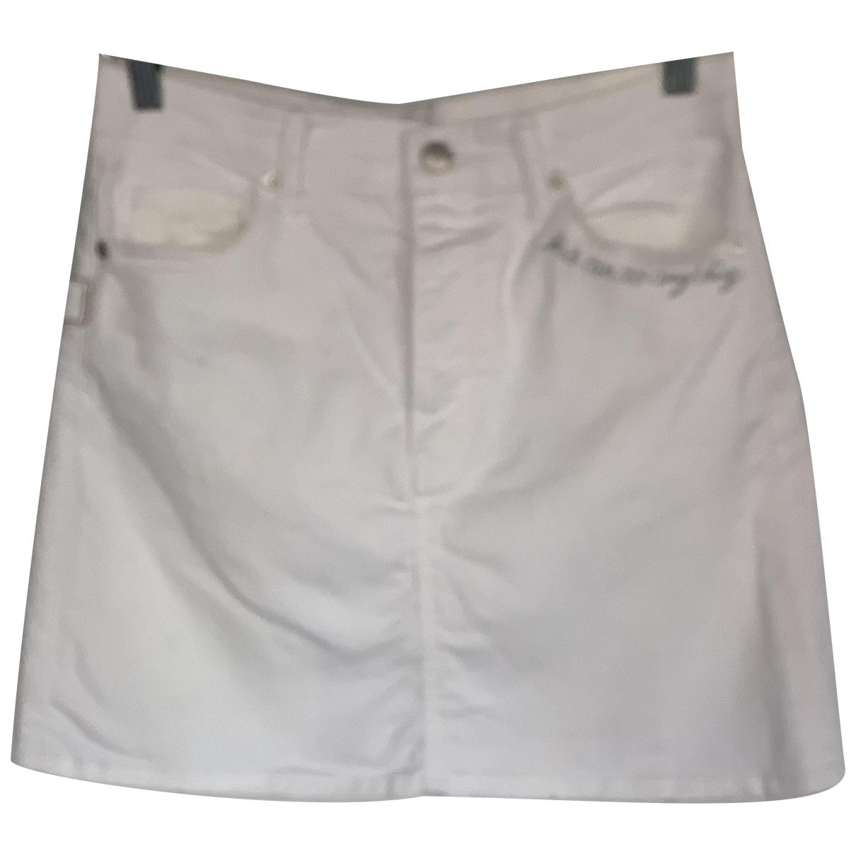 Zadig & Voltaire N White Cotton skirt for Women 36 FR