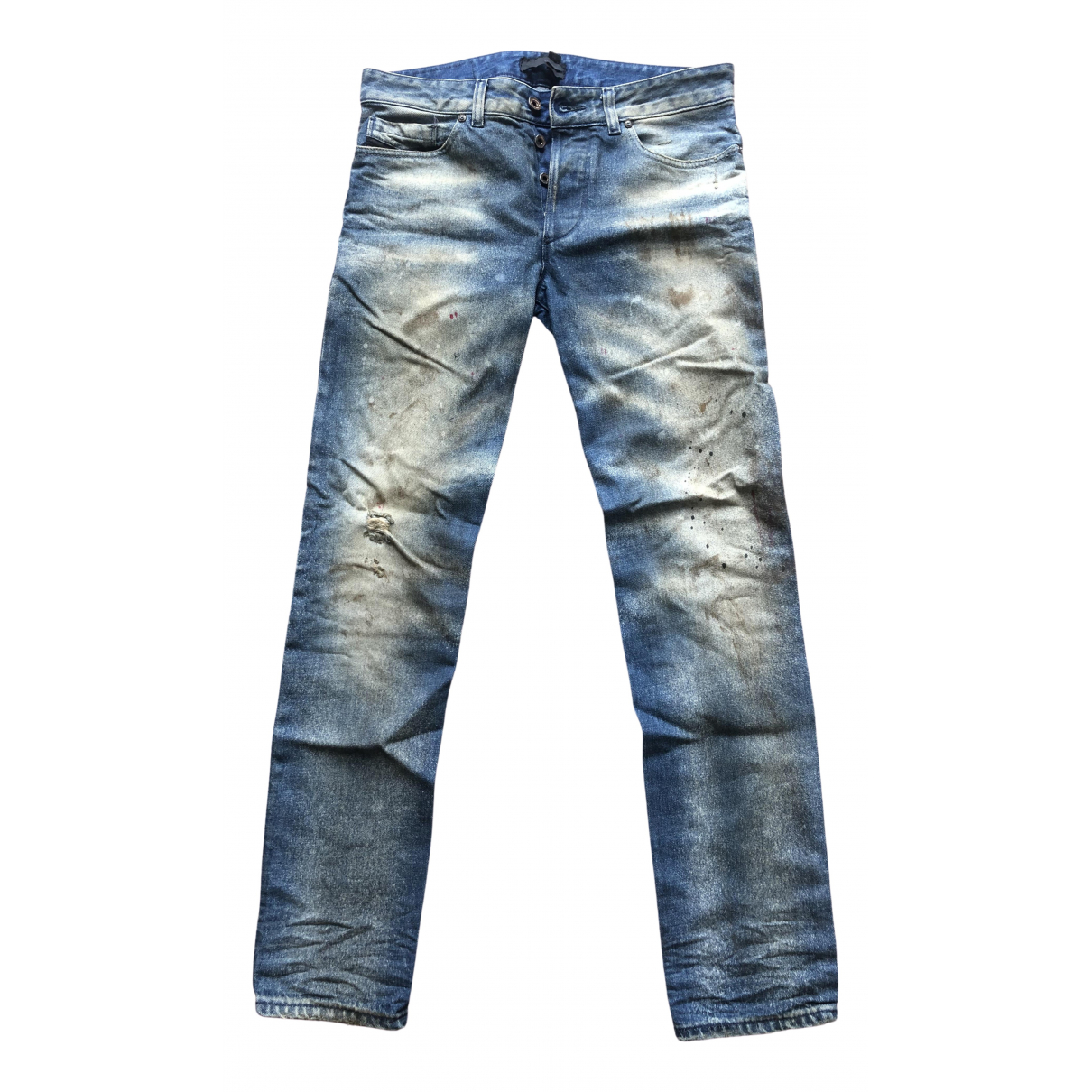Diesel Black Gold \N Blue Cotton Jeans for Men 29 US