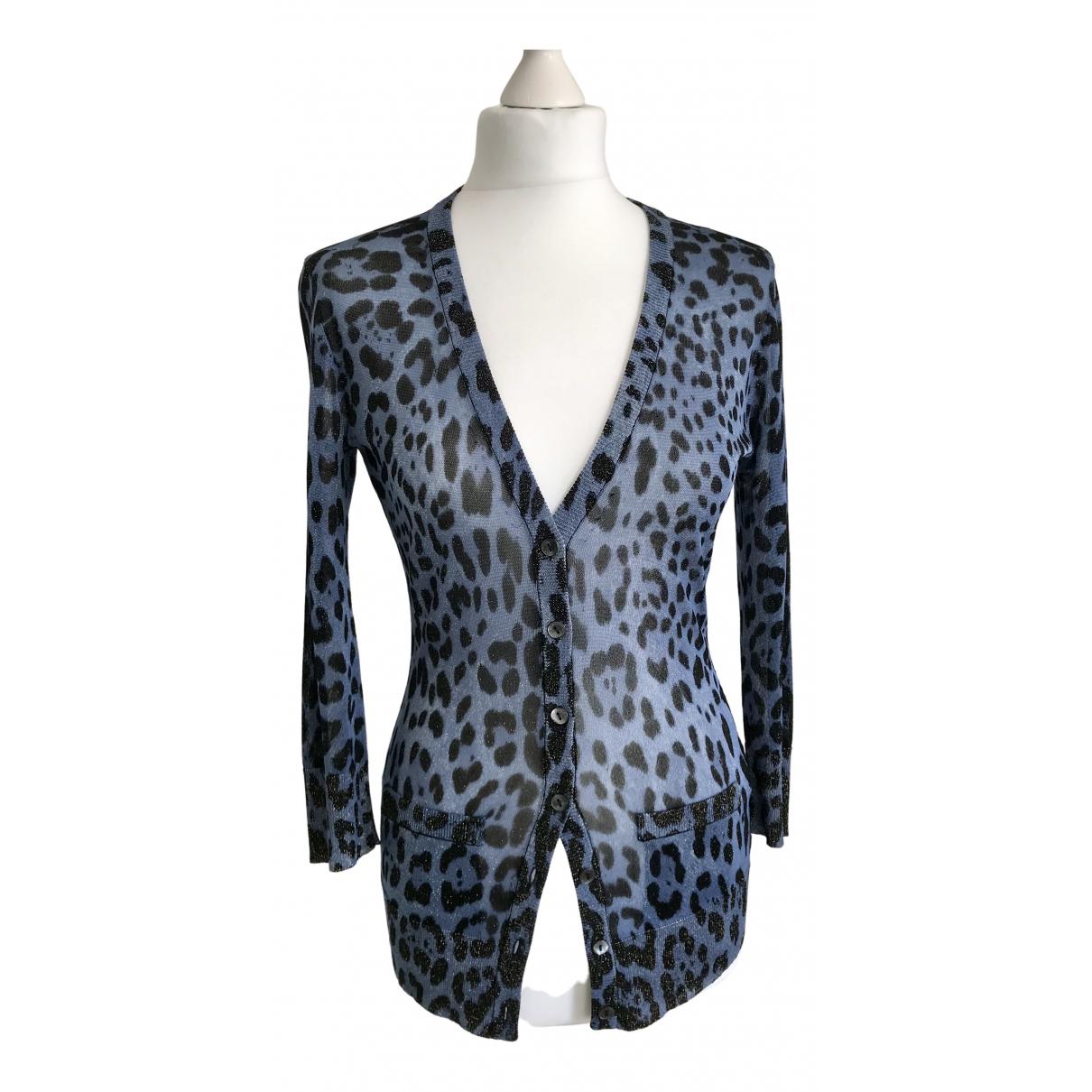 Dolce & Gabbana - Pull   pour femme - bleu