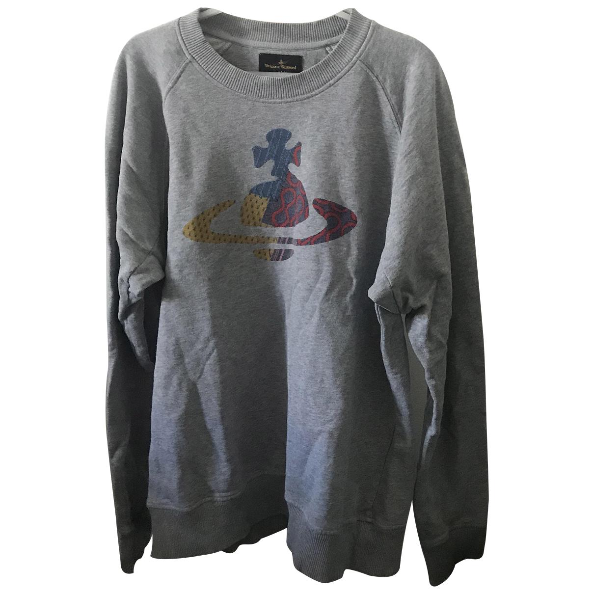 Vivienne Westwood Anglomania \N Pullover.Westen.Sweatshirts  in  Grau Baumwolle