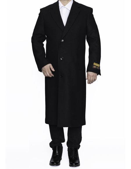 Mens Big And Tall Trench Coat Overcoat Topcoat 4XL 5XL 6XL Black