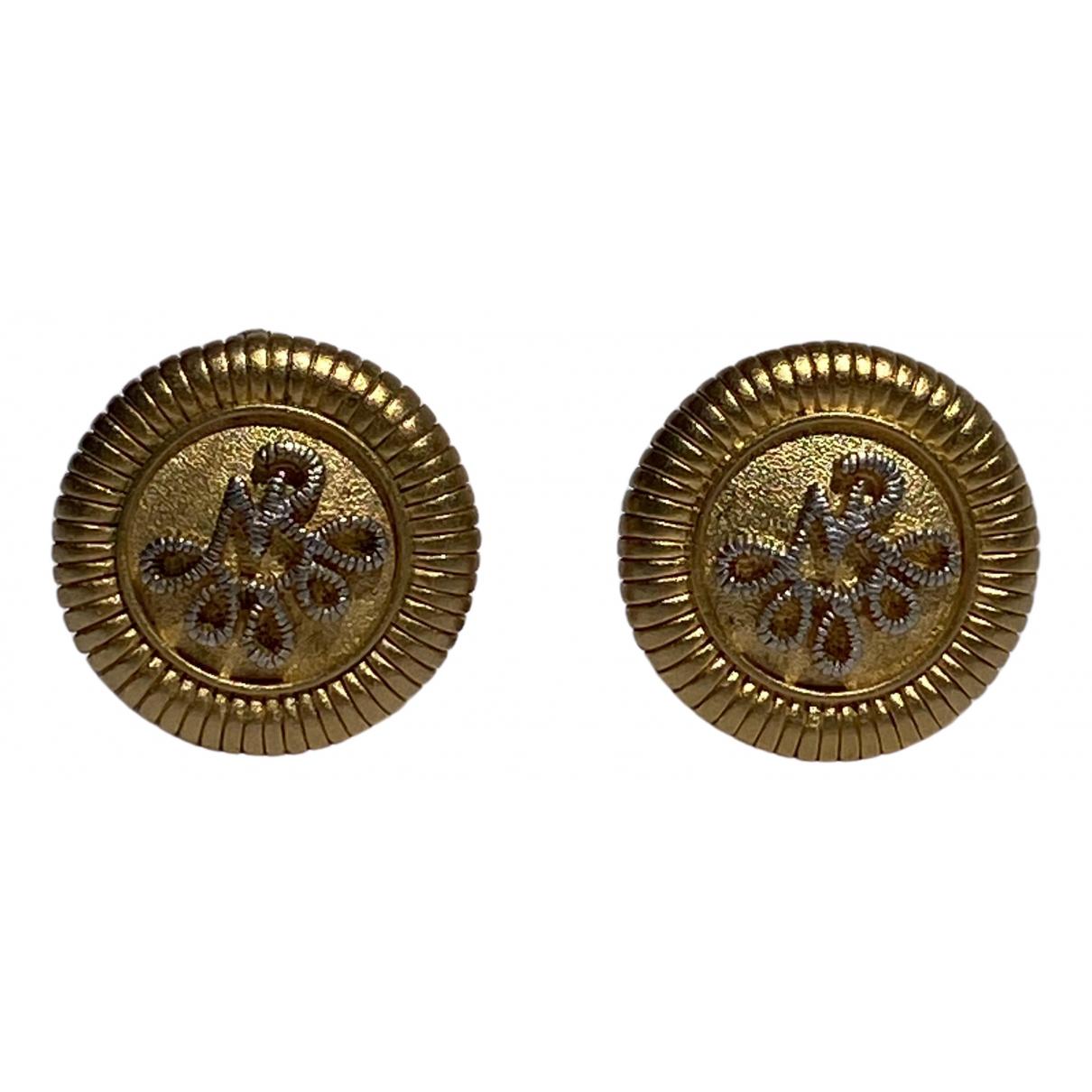 Nina Ricci \N OhrRing in  Gold Metall