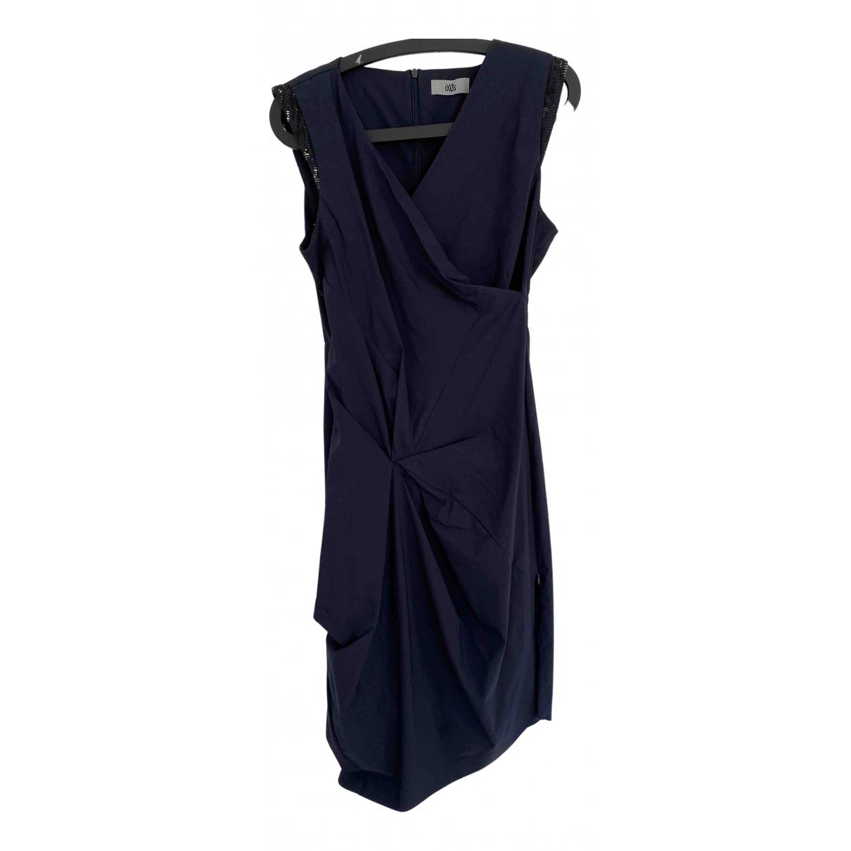 Non Signe / Unsigned \N Kleid in  Blau Viskose