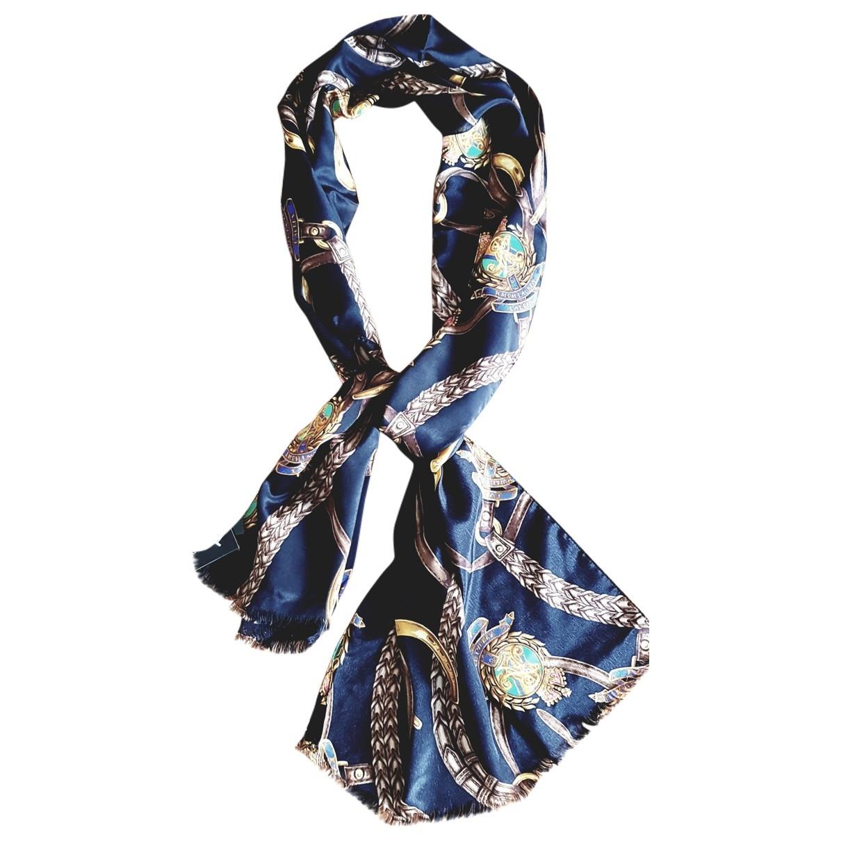 Lauren Ralph Lauren - Foulard   pour femme en soie - multicolore