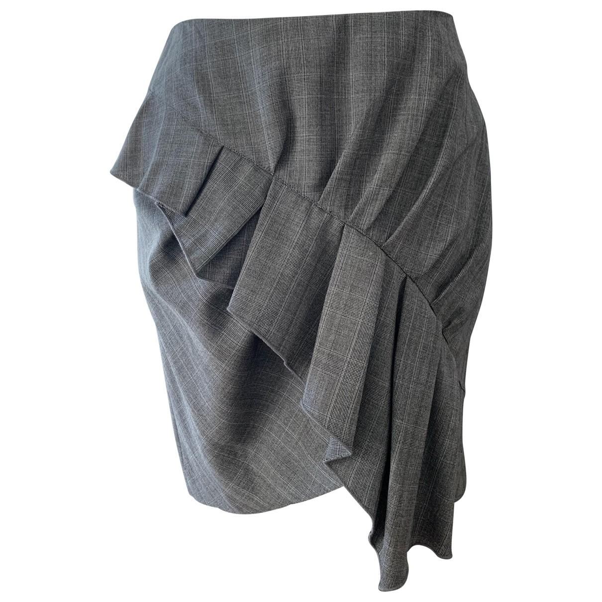 Isabel Marant Etoile \N Rocke in  Grau Wolle