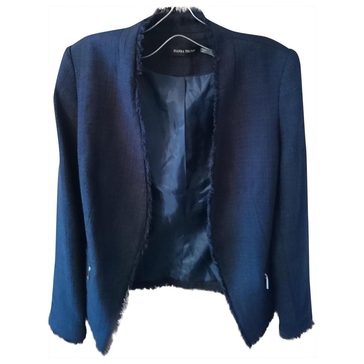 Ivanka Trump - Veste   pour femme en coton - bleu