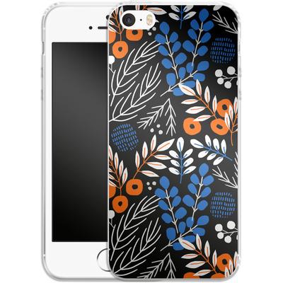 Apple iPhone 5s Silikon Handyhuelle - Forest Floor von Jenna Kunnas