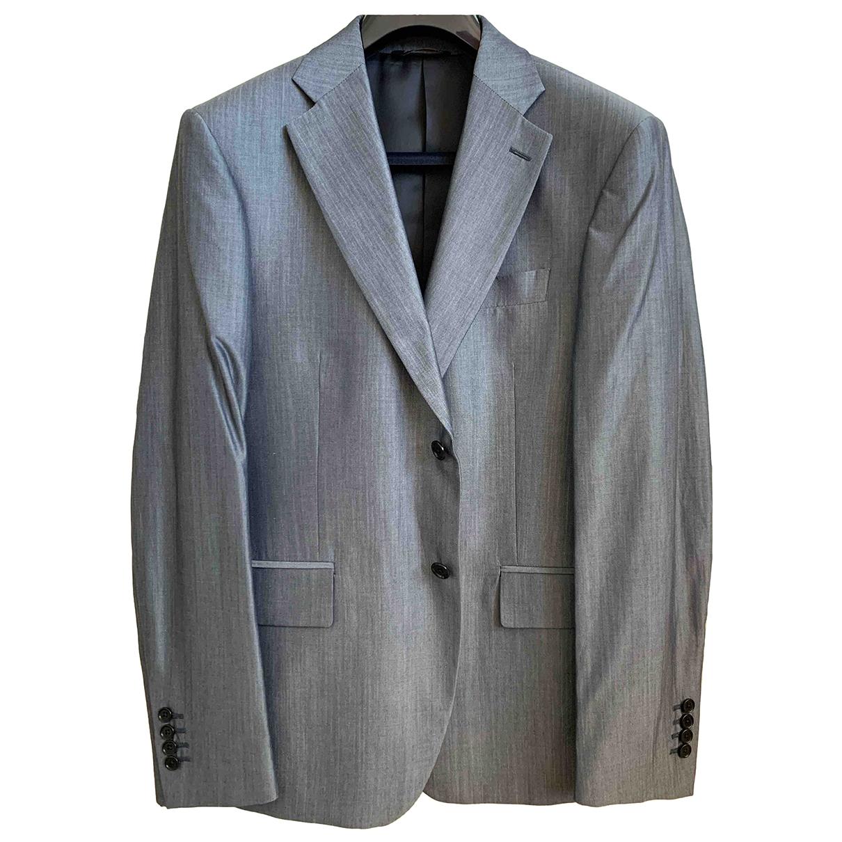 Class Cavalli \N Anzuege in  Grau Wolle