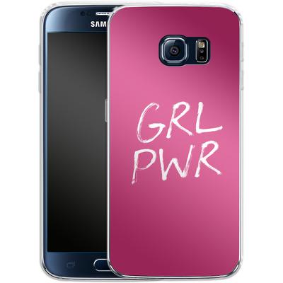 Samsung Galaxy S6 Silikon Handyhuelle - GRLPWR von caseable Designs