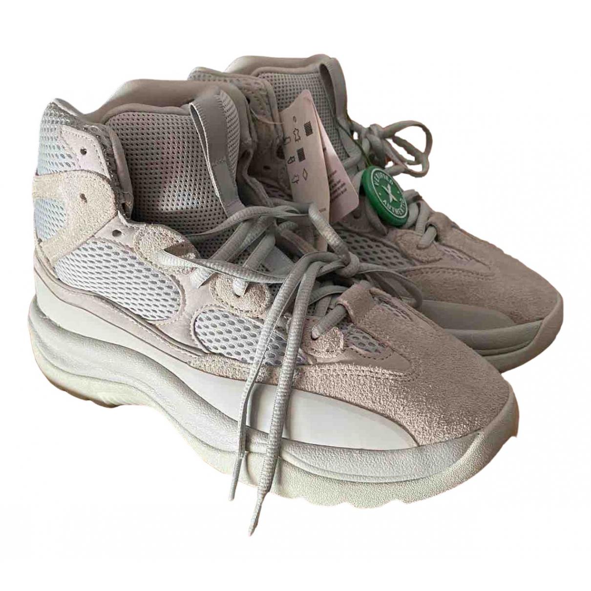 Yeezy X Adidas - Bottes.Boots   pour homme en suede - gris