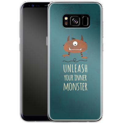 Samsung Galaxy S8 Silikon Handyhuelle - Unleash Your Inner Monster von Statements