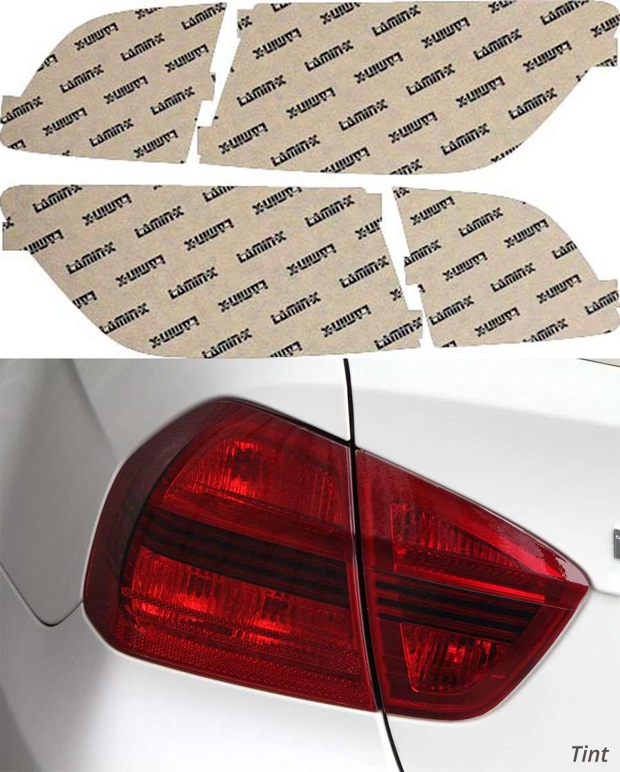 Mazda CX-9 07-12 Tint Tail Light Covers Lamin-X M214T