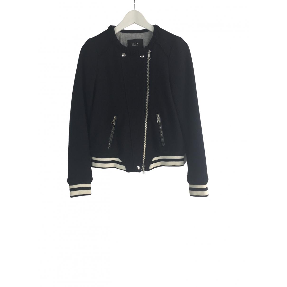 Set \N Blue Cotton jacket for Women 40 FR