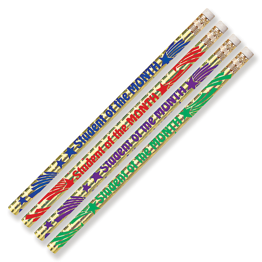 Student Of The Month Assorted Colors Pencils, 12 Dozen By Musgrave Pencil | Michaels®