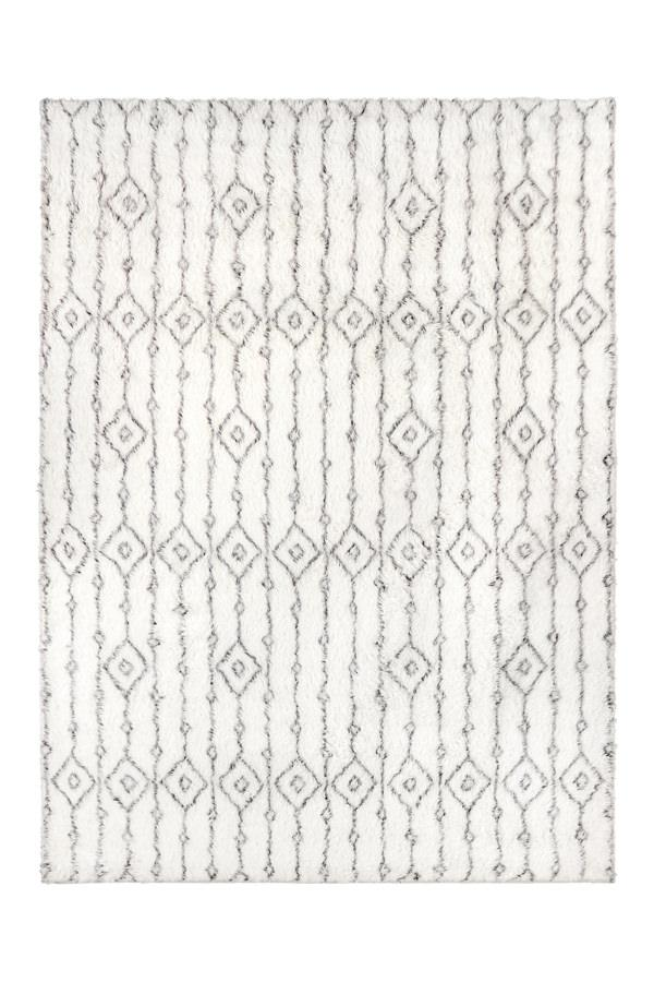 Washable Rug Cover | Plush Moroccan Ornate Rug | Stain-Resistant | Ruggable | 5'x7'
