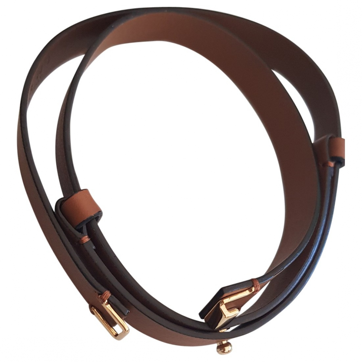 Marni \N Camel Leather belt for Women S International