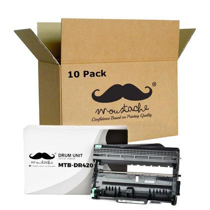 Compatible Brother DR-420 tambour - Moustache@ - 10/paquet