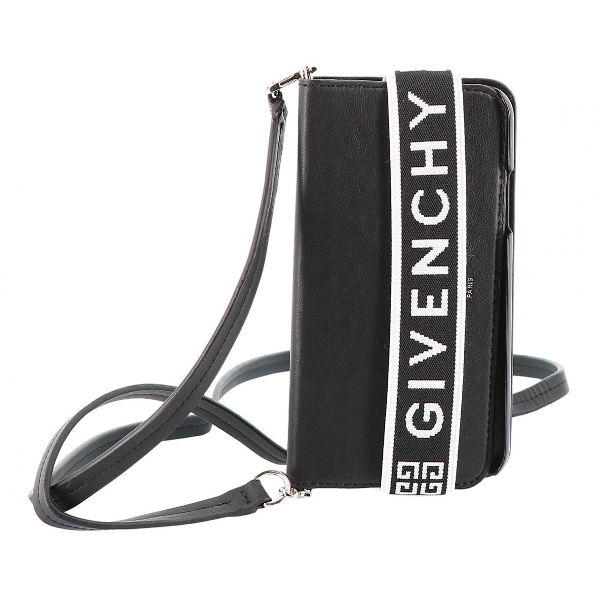 Givenchy \N Accessoires in  Schwarz Leder